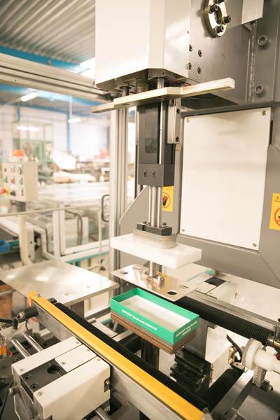 mels verpakkingsinnovatie productie doos
