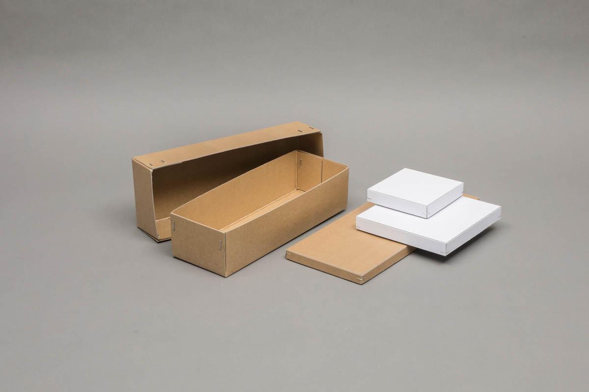 Luxe omkleefde bodem en deksel dozen - gestikte bodem en deksel dozen