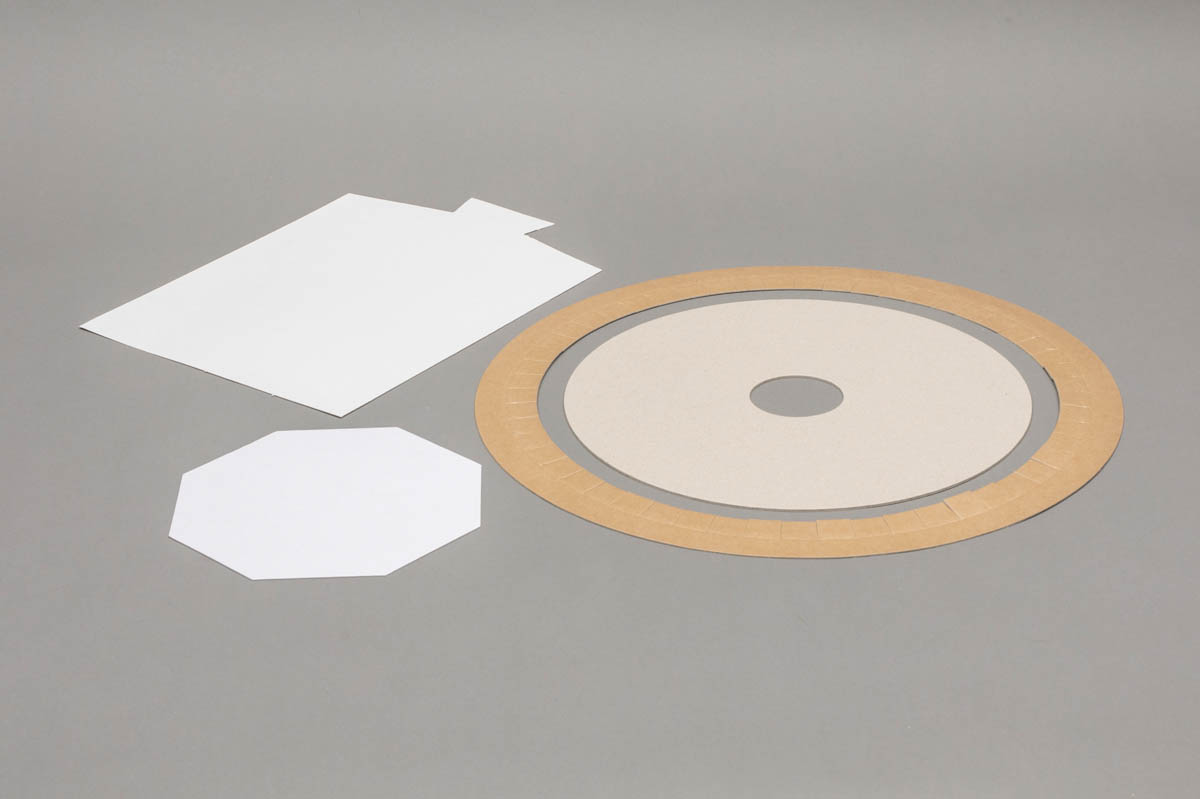 Industriële toepassingen - inlegkartons trays gestanste rondellen