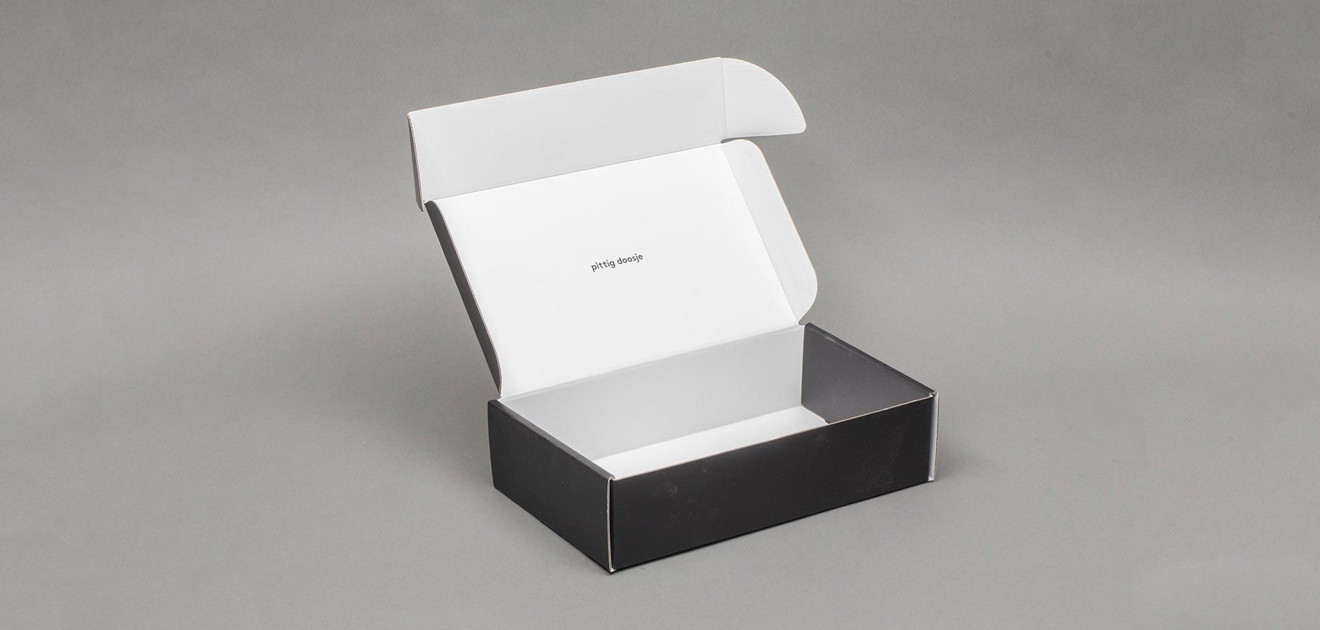 mels pittig doosje verpakking