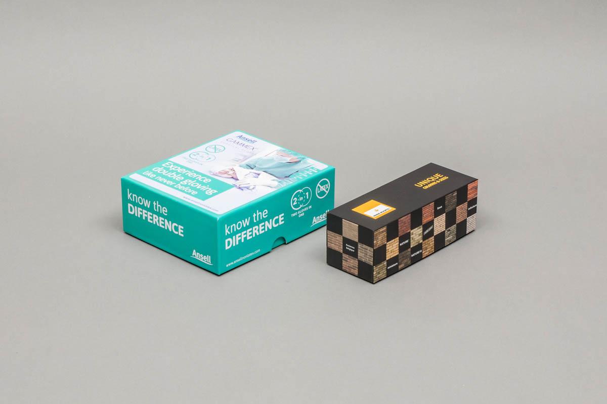 Luxe omkleefde bodem en deksel dozen - omkleefde bodem en deksel