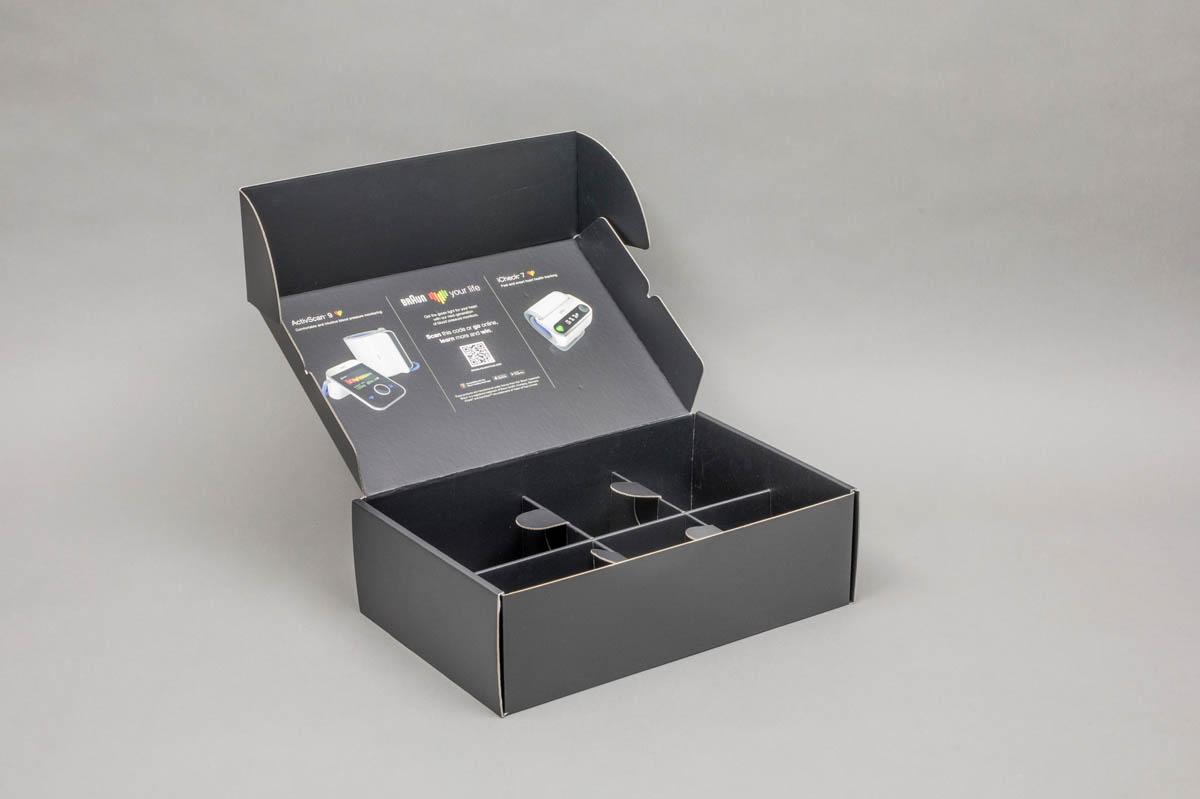 E-commercedozen - postpack doos met inlay
