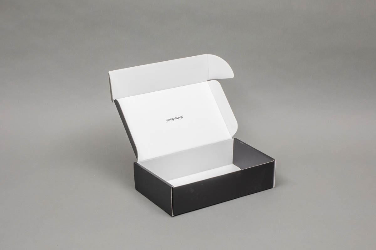 Verpakkingsdozen - postpack doos tweezijdig bekleefd