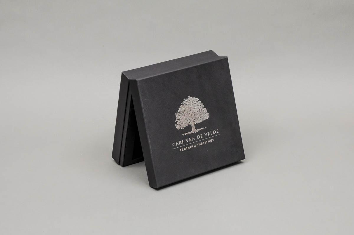 Luxe omkleefde bodem en deksel dozen - scharnierdoos