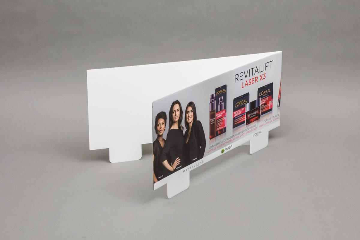 Pancartes / displays / POS materiaal - topkaart